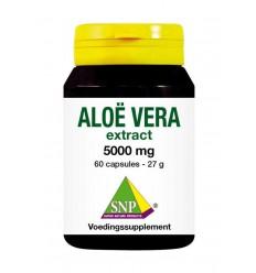 SNP Aloe vera 5000 mg puur 60 capsules | € 26.59 | Superfoodstore.nl