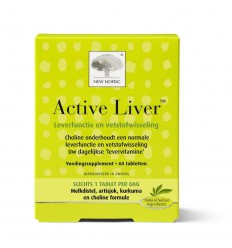 New Nordic Active liver 60 capsules | € 41.62 | Superfoodstore.nl