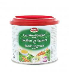 Morga Groentebouillon pasteus 200 gram   € 4.64   Superfoodstore.nl