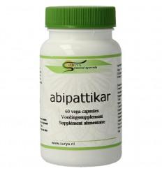 Surya Abipattikar surya 60 capsules | € 11.05 | Superfoodstore.nl