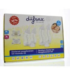 Difrax Starterset pasgeborenen 1 set | € 27.90 | Superfoodstore.nl