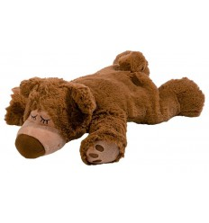 Warmies Sleepy bear licht bruin | € 18.79 | Superfoodstore.nl