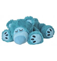 Warmies Sleepy bear turquoise | € 18.79 | Superfoodstore.nl