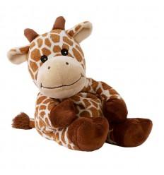 Warmies Giraffe giraffana lavendel | € 17.99 | Superfoodstore.nl