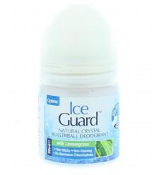 Optima Ice guard deodorant roll on lemongrass 50 ml | € 6.68 | Superfoodstore.nl