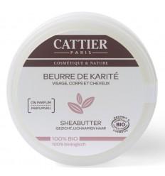 Cattier Sheabutter 100 gram | € 9.06 | Superfoodstore.nl