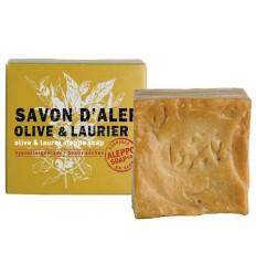 Aleppo Soap Co Aleppo zeep olijf en laurier 100 gram | € 2.57 | Superfoodstore.nl