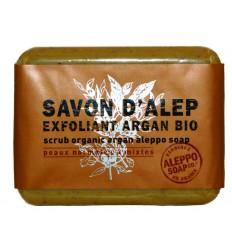 Aleppo Soap Co Aleppo zeep exfoliant argan bio 100 gram | € 4.79 | Superfoodstore.nl