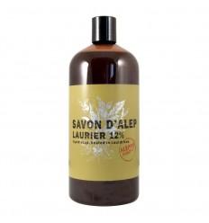 Aleppo Soap Co Aleppo zeep 12% laurier navul 1 liter | € 17.36 | Superfoodstore.nl