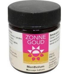 Zonnegoud Mentholum balsem 30 gram | € 5.68 | Superfoodstore.nl