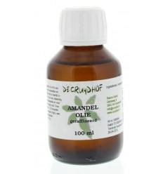 Cruydhof Amandelolie zoet geraffineerd 100 ml | € 5.22 | Superfoodstore.nl