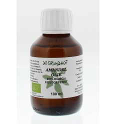 Cruydhof Amandelolie koudgeperst bio 100 ml | € 8.70 | Superfoodstore.nl