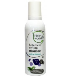 Hairwonder Botanical styling mousse extra strong 200 ml   € 7.82   Superfoodstore.nl