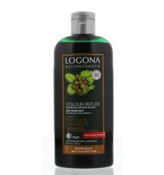 Logona Kleurshampoo bruin zwart bio hazelnoot 250 ml   € 8.83   Superfoodstore.nl
