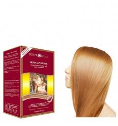 Surya Brasil Henna haarverf poeder aardbei blond 50 gram | € 7.82 | Superfoodstore.nl