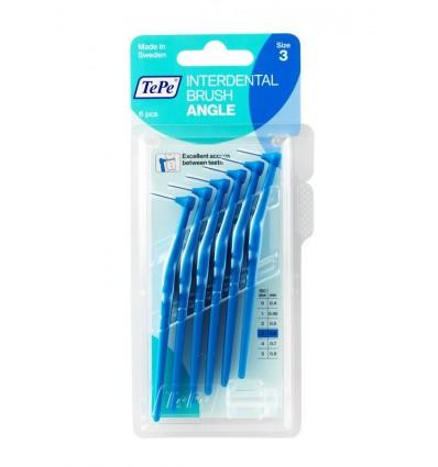 Tepe Angle blauw 0.6 mm 6 stuks