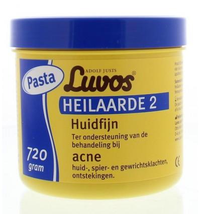 Luvos Heilaarde 2 huidfijn pasta 720 gram