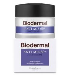 Biodermal Nachtcreme anti age 60+ 50 ml   € 20.41   Superfoodstore.nl
