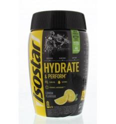 Isostar Hydrate & perform lemon 400 gram | € 8.91 | Superfoodstore.nl
