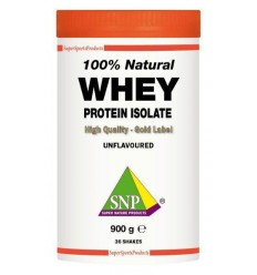 SNP Whey proteine isolate 100% natural 900 gram | € 51.55 | Superfoodstore.nl