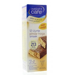 Weight Care Maaltijdreep pinda/noga 2 stuks | € 2.85 | Superfoodstore.nl