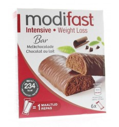 Modifast Snack & meal lunchreep melkchocolade 6 x 31 gram | € 5.26 | Superfoodstore.nl