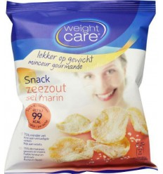 Weight Care Snack zeezout 25 gram   € 1.04   Superfoodstore.nl