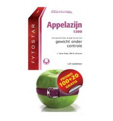 Fytostar Appelazijn 1200 maxi 120 tabletten   € 36.65   Superfoodstore.nl
