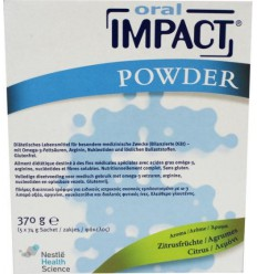 Nestle Oral impact citroen 5 sachets | € 62.88 | Superfoodstore.nl