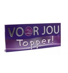 Voor Jou! Wensreep topper 100 gram | € 2.02 | Superfoodstore.nl