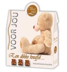 Voor Jou! Cadeau doos trendy beertjes dikke knuffel 100 gram | € 3.55 | Superfoodstore.nl