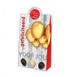 Voor Jou! Cadeau doos young ballonnen gefeliciteerd 100 gram   € 3.55   Superfoodstore.nl