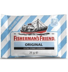 Fishermansfriend Original extra sterk suikervrij 25 gram | € 1.17 | Superfoodstore.nl