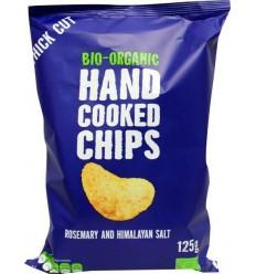 Trafo Chips handcooked rozemarijn himalaya zout 125 gram | € 1.77 | Superfoodstore.nl