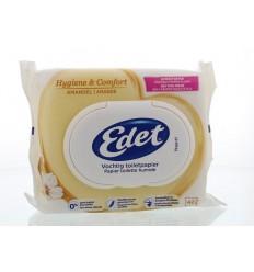 Edet Vochtig toiletpapier rich almond navul 42 stuks | € 2.41 | Superfoodstore.nl
