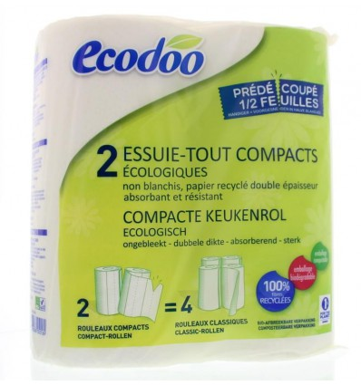 Ecodoo Keukenrol 2 stuks kopen