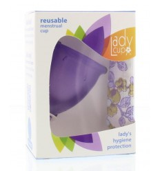 Ladycup Menstruatie cup lilac maat L | € 30.64 | Superfoodstore.nl