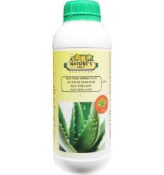 Natures Help Aloe vera drank puur 1 liter | € 22.70 | Superfoodstore.nl