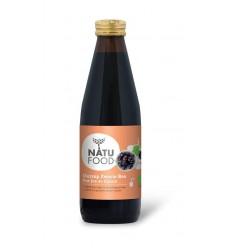Natufood Zwarte bes oersap vitaal 330 ml | € 4.27 | Superfoodstore.nl