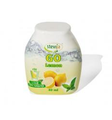 Stevija Stevia limonadesiroop go lemon 40 ml   € 4.68   Superfoodstore.nl