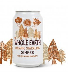 Whole Earth Ginger 330 ml | € 1.31 | Superfoodstore.nl