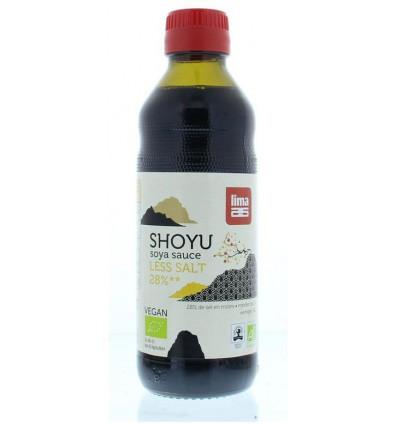 Lima Shoyu 28% less salt 250 ml kopen
