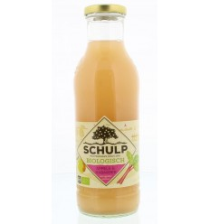 Schulp Appel & rabarbersap bio 750 ml | € 3.25 | Superfoodstore.nl