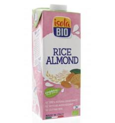 Isola Bio Rijstdrank amandel 1 liter | € 3.30 | Superfoodstore.nl