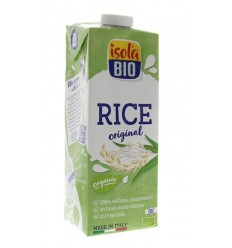 Isola Bio Rijstdrank naturel 1 liter | € 2.44 | Superfoodstore.nl