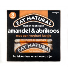 Eat Natural Almond apricot yoghurt 3 x 50 gram 150 gram | € 3.74 | Superfoodstore.nl