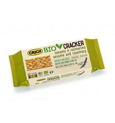 Crich Crackers sesam rozemarijn bio 250 gram | € 2.02 | Superfoodstore.nl