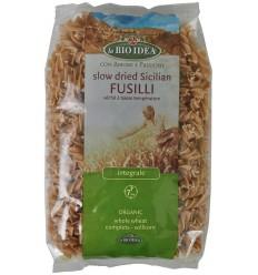 Bioidea Fusilli volkoren spirelli 500 gram | € 1.39 | Superfoodstore.nl