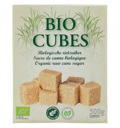 Hygiena Bio cubes rietsuikerklontjes 500 gram | € 2.49 | Superfoodstore.nl