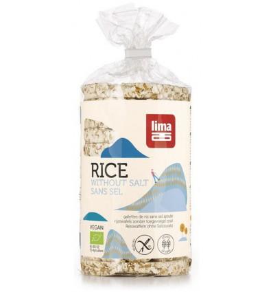 Lima Rijstwafels zonder toegevoegd zout 100 gram kopen